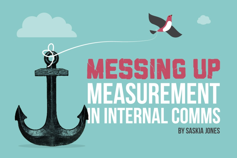 Messing up measurement by Saskia Jones